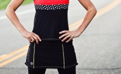 Adjustable Cycling Skirt | Moxie Cycling Co