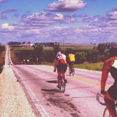 RAGBRAI Iowa annual ride 2012 moxie cycling