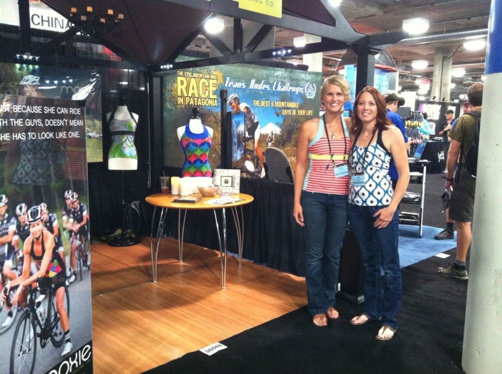 Moxie Cycling booth interbike 2012 women's cycling jersey