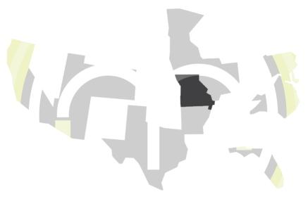 Ambassador Map-Missouri