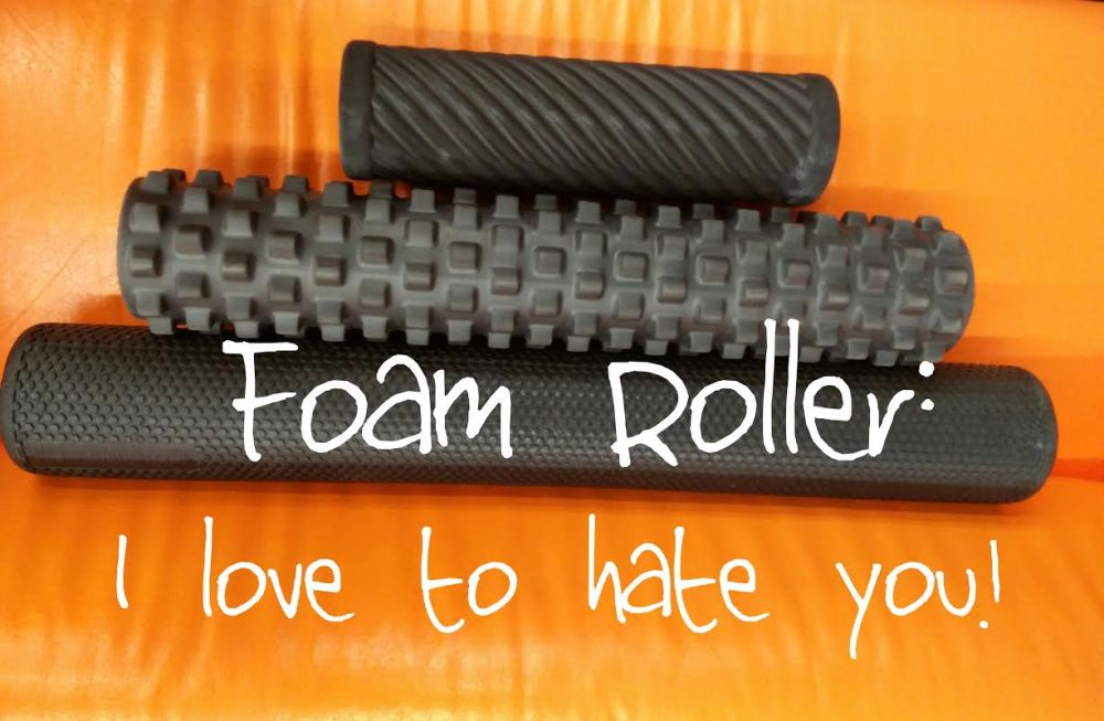 foam rolling love to hate you