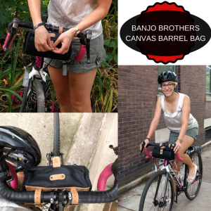 BANJO BROTHERS CANVAS BARREL BAG